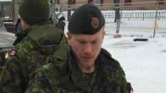 جندي الإحتياط باتريك ماثيوز -Radio Canada Archives CBC /