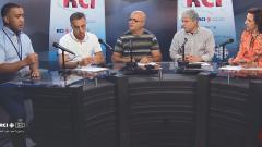 أسرة القسم العربي وضيف البرنامج الأستاذ محمّد برهون مؤسّس ورئيس جمعيّة جذور في مونتريال/RCI