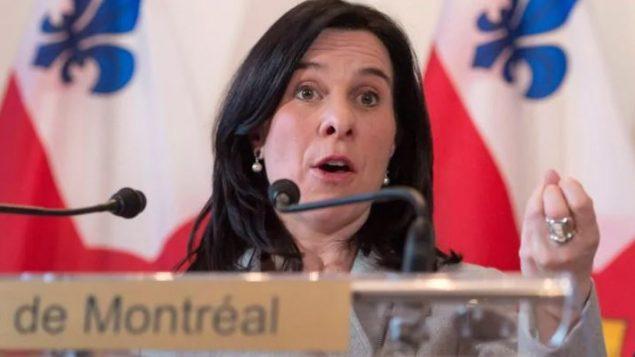 فاليري بلانت، عمدة مدينة مونتريال - Ryan Remiorz / The Canadian Press