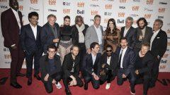"""فريق عمل فيلم """"أنكات جيمز"""" على السجادة الحمراء في مهرجان تورونتو السينمائي الدولي/Tijana Martin/CP"""