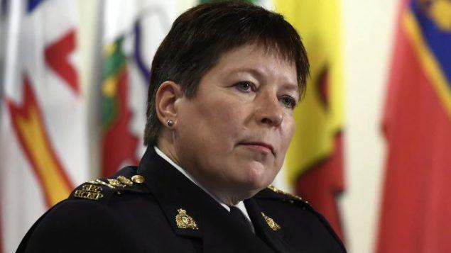 كاميرون أورتيس كان قادرا على الوصول إلى معلومات وكالات الاستخبارات الكنديّة حسب المفوّضة في الشرطة الكنديّة برندا لوكي/Justin Tang/CP