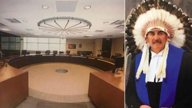 القاضي أوجين كرايتون يترأس حفل افتتاح محكمة كالغاري للسكّان الأصليّين/Calgary Indigenous Court/Judge Eugene Creighton