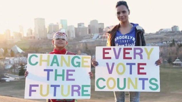 حملة على موقع يوتوب لحثّ السكان الأصليين على التصويت (أرشيف 2015) - Youtube