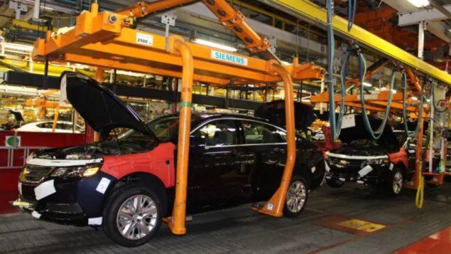تجميع السيّارات في معمل اوشاوا في اونتاريو توقّف بسبب إضراب عمّال جنرال موتورز في الولايات المتّحدة/GM Canada