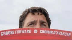 الزعيم الليبرالي جوستان ترودو يقدّم العديد من التعهدات في حملته الانتخابيّة/Ryan Remioez/CP