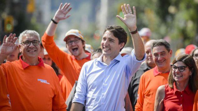 جوستان ترودو، زعيم الحزب الليبرالي ورئيس الحكومة - The Canadian Press / ANDREW LAHODYNSKYJ