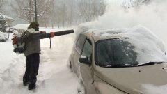 تتوقع وزارة البيئة الكندية تساقط الثلوج من بعد ظهر الجمعة إلى غاية يوم الاثنين 30 سبتمبر أيلول في أجزاء من جنوب غرب ألبرتا - Radio Canada