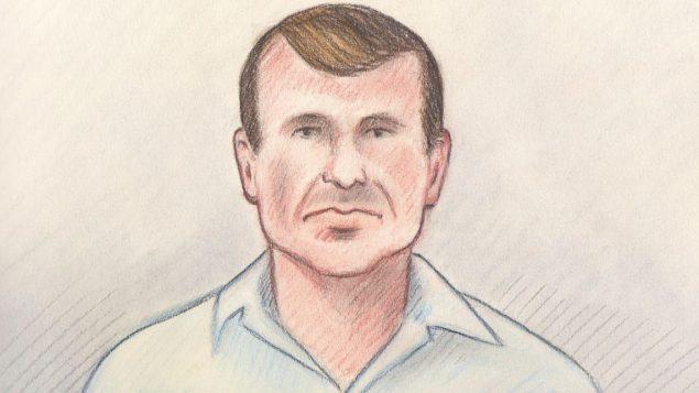 كشف تحقيق سرّي في منزل الجاسوس المشتبه به كاميرون أورتيس ملاحظات مكتوبة بخطّ اليد حول كيفيّة محو البيانات الوصفيّة من الوثائق/Sketch by Laurie Foster-MacLeod for CBC News
