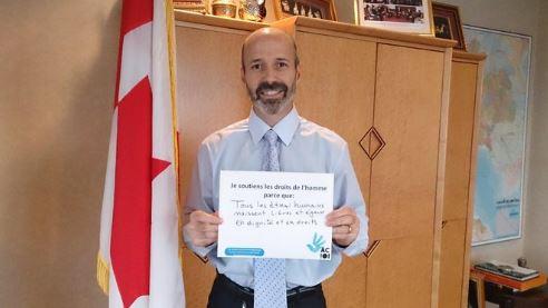 باتريس كوزينو، السفير الكندي الجديد في تونس ( الصورة مأخوذة في عام 2014 حينما كان يشغل منصب مستشار ورئيس قسم العلاقات السياسية والاقتصادية في سفارة كندا في بانكوك، عاصمة تايلاندا) - Twitter / @CanadaThailand