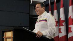 بيري بيليغارد، زعيم جمعية الأمم الأوائل - / RADIO-CANADA BENOIT ROUSSEL