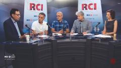 أسرة القسم العربي وضيف البرنامج حسن كتّوعة الممثّل الرسمي لأصحاب سيّارات الأجرة في مونتريال/RCI