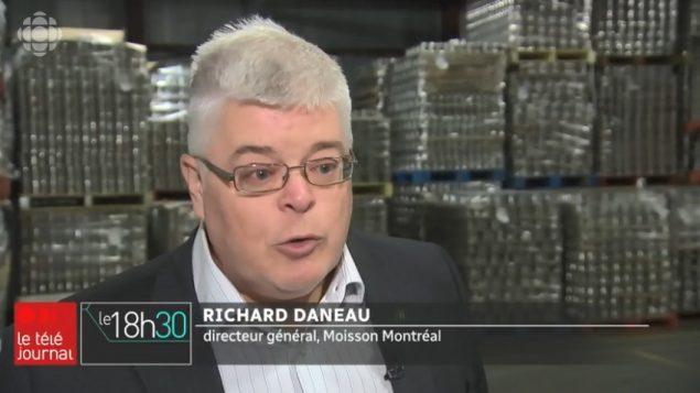 ريشار دانو ، المدير التنفيذي لبنك الطعام مواسون مونتريال - Radio Canada