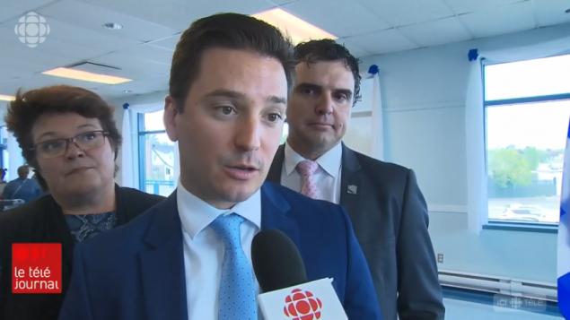 سيمون جولان-باريت ، وزير الهجرة في كيبيك - Radio Canada