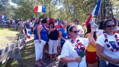 الأكاديّون يحتفلون بعيدهم الوطني في 15 آب أغسطس/ Marilyn Marceau/Radio-Canada
