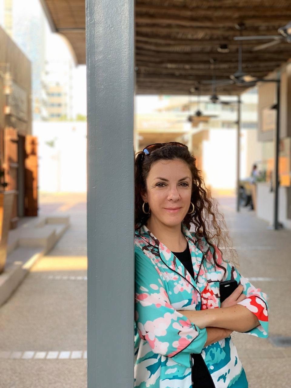 مخرجة الأفلام الوثائقيّة زهرا مكاوي صوّرت طوال 5 سنوات حركة نزوح السوريّين إلى دول الجوار وإلى أوروبا/ زهرا مكاوي