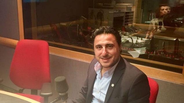 الدكتور فؤاد زمكحل رئيس تجمّع رجال وسيّدات الأعمال اللبنانيّين في العالم في استديو راديو كندا الدولي في 18-05-2018/لميا شارلوبوا