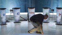 يشارك في المناظرة التي ستكون باللغة الإنكليزية زعماء ستة أحزاب فدرالية : جوستان ترودو (الحزب الليرالي الكندي)، أندرو شير (حزب المحافظين الكندي)، جاغميت سينغ (الحزب الديمقراطي الجديد)، إليزابيث ماي (حزب الخضر)، إيف-فرانسوا بلانشيه (الكتلة الكيبيكية) وماكسيم برنييه (حزب الشعب في كندا) - أرشيف - The Canadian Press / Paul Chiasson