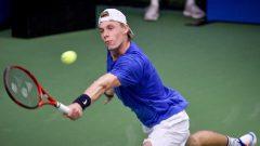 لاعب التنس الكندي، الكندي دينيس شابافولوف - TT via Associated Press / The Canadian Presse / Henrik Montgomery
