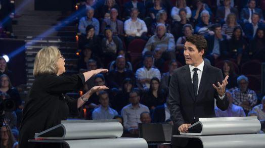 إليزابيث ماي، زعيمة حزب الخضر، تقول إن دطة ترودو البيئية غير طموحة - The Canadian Press / Sean Kilpatrick