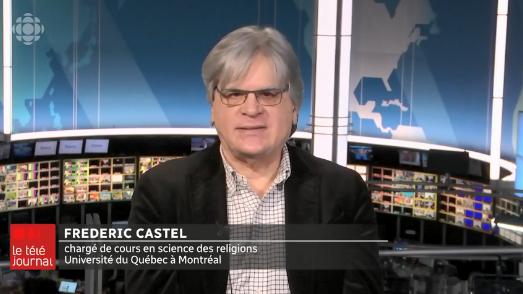 فريديريك كاستيل، أستاذ بجامعة كيبيك في مونتريال- Radio Canada