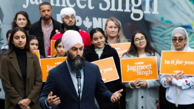 جاغميت سينغ، زعيم الحزب الديمقراطي الجديد - Nathan Denette / The Canadian Press