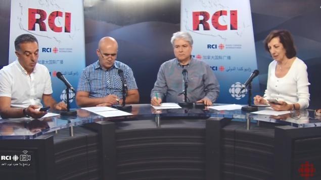 أسرة القسم العربي في برنامج بلا حدود في 04-10-2019/RCI