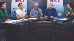 أسرة القسم العربي وضيفة البرنامج لينا التازي في 11-10-2019/RCI