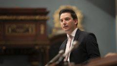 سيمون جولان-باريت، وزير الهجرة في كيبيك وأبو قانون علمانية الدولة - Radio Canada / Ivanoh Demers