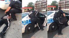عملية توقيف مواطن أسود من قبل شرطة مدينة مونتريال (أرشيف) - Photo Submitted by Jahmensky Lubin
