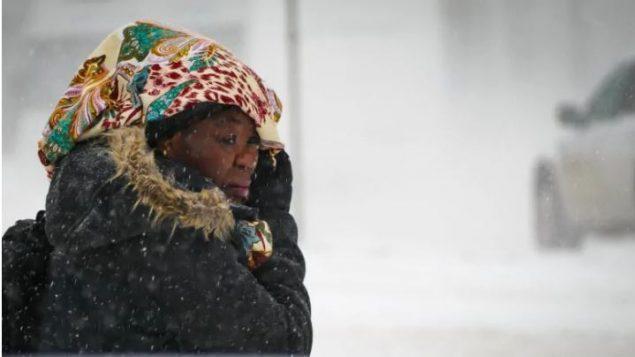 العاصفة الثلجية التي ضربت مدينة وينيبيغ في فبراير شباط 2019 (أرشيف) - Lyzaville Sale / CBC