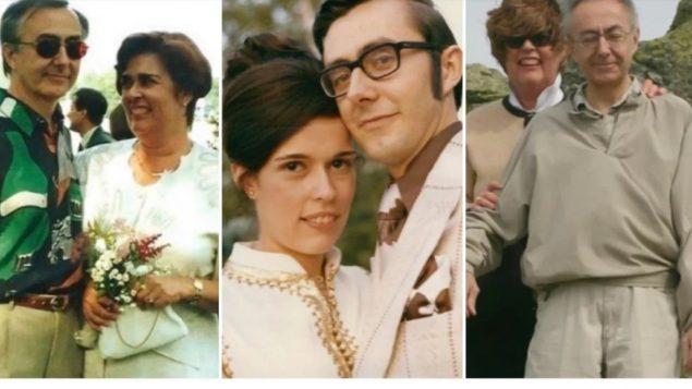 فرانسين مسييه وزوجها فرانسوا بوشيه حصلا على المساعدة الطبيّة على الموت في غضون ثوان قليلة من بعضهما البعض/ COURTOISIE
