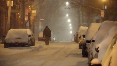 العاصفة المبكّرة حملت كميّات كبيرة من الثلوج /Simon -Marc Charron-Radio-Canada