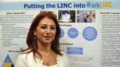 ايمان المصري مستشارة التوظيف في مركز مساعدة المهاجرين في هاملتون في أونتاريو/IWC