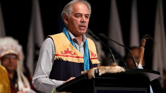 جيسلان بيكار، رئيس جمعية الأمم الأوائل في كيبيك ولابرادور (أرشيف) - The Canadian Press / Trevor Hagan
