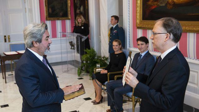بابلو رودريغيز (إلى اليسار) - Sean Kilpatrick / The Canadian Press