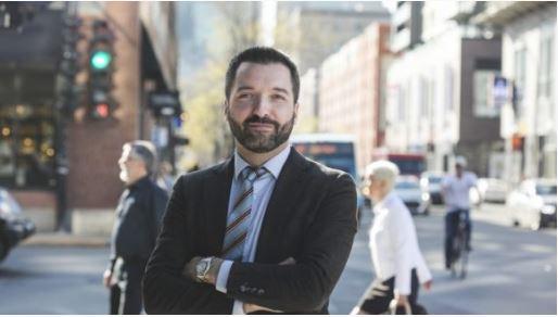 سيمون غودرو ، مدير البحوث في الفدرالية الكندية للشركات المستقلة - Photo : CFIB