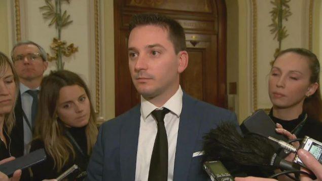سيمون جولان باريت، وزير الهجرة في كيبيك - Radio Canada