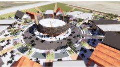 تبدأ أعمال بناء قرية النبيذ في العام 2020/District Wine Village