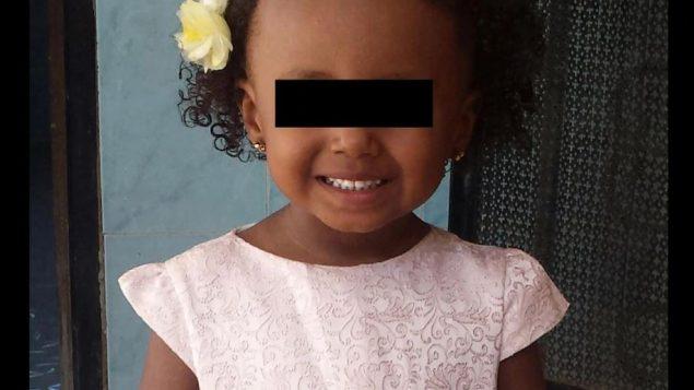الطفلة أميرة تبلغ 4 سنوات من العمر - Courtesy