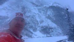 الانهيار الثلجي فاجأ الكندي برايان هاورد الذي كان يمارس رياضة الركض البطيء /Bryon Howard