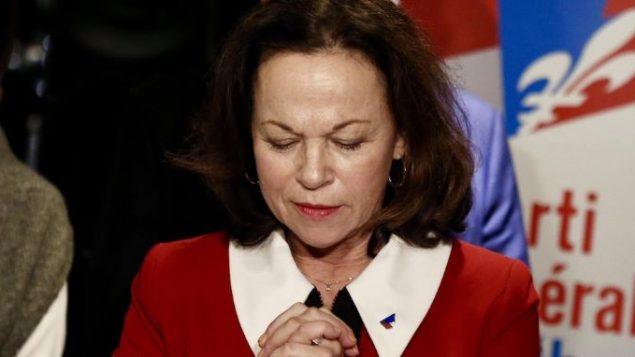 جرترود بوردون مرشّحة الحزب الليبرالي المحلّي في كيبيك خسرت في محاولتها الثانية للفوز بمقعد في الجمعيّة الوطنيّة الكيبيكيّة/Daniel Coulombe/ Radio-Canada