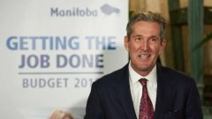 براين باليستر، رئيس حكومة مانيتوبا - The Canadian Press / Davis Lipnowski