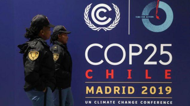 قمّة المناخ منعقدة في مدريد بسبب الاضطرابات في تشيلي/Susana Vera/Reuters