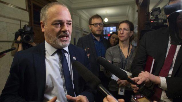 جوناتان ججوليان وزير الطاقة في حكومة كيبيك /Jacques Boissinot/CP