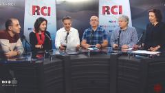 أسرة القسم العربي وضيوف البرنامج فريال قلّال وأمين لخنش في 06-12-2019/RCI