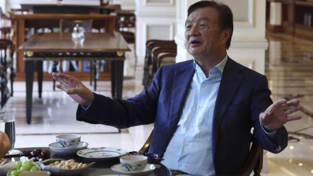 رين جانغفاي، مؤسس شركة هواوي الصينية للاتصالات - The Canadian Press / AP NG Han Guan /