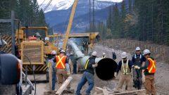 يسمح مشروع توسيع أنبوب ترانس ماونتن بنقل 890 ألف برميل من النفط يومياً من ألبرتا إلى فانكوفر بدلاً من الـ300 ألف برميل التي ينقلها الأنبوب حالياً - Photo : Kinder Morgan