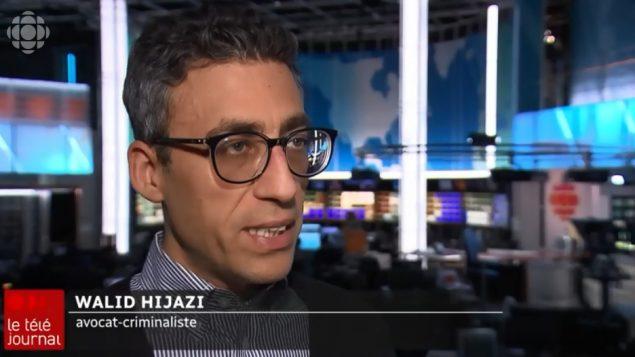 وليد حجازي، المحامي الجنائي - Radio Canada