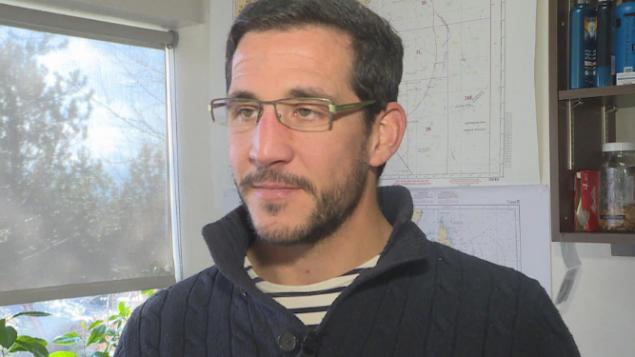 يتوقّع الباحث في معهد العلوم البحريّة أرنو لوبري أن تتضاعف كميّات الكركند في مقاطعة نيوفاوندلاند ولابرادور في السنوات المقبلة/Marie-IsabelleRochon/radio-Canada