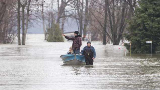 الفيضانات الربيعيّة تسبّبت بأعلى كلفة للحكومة الفدراليّة في اوتاوا من بين الكوارث الطبيعيّة الأخرى/Graham Hughes/CP